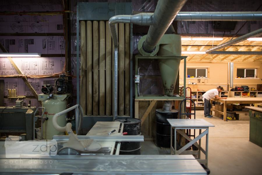 Kirby Melick, Kirby Custom Woodwork, Bloomington, Indiana