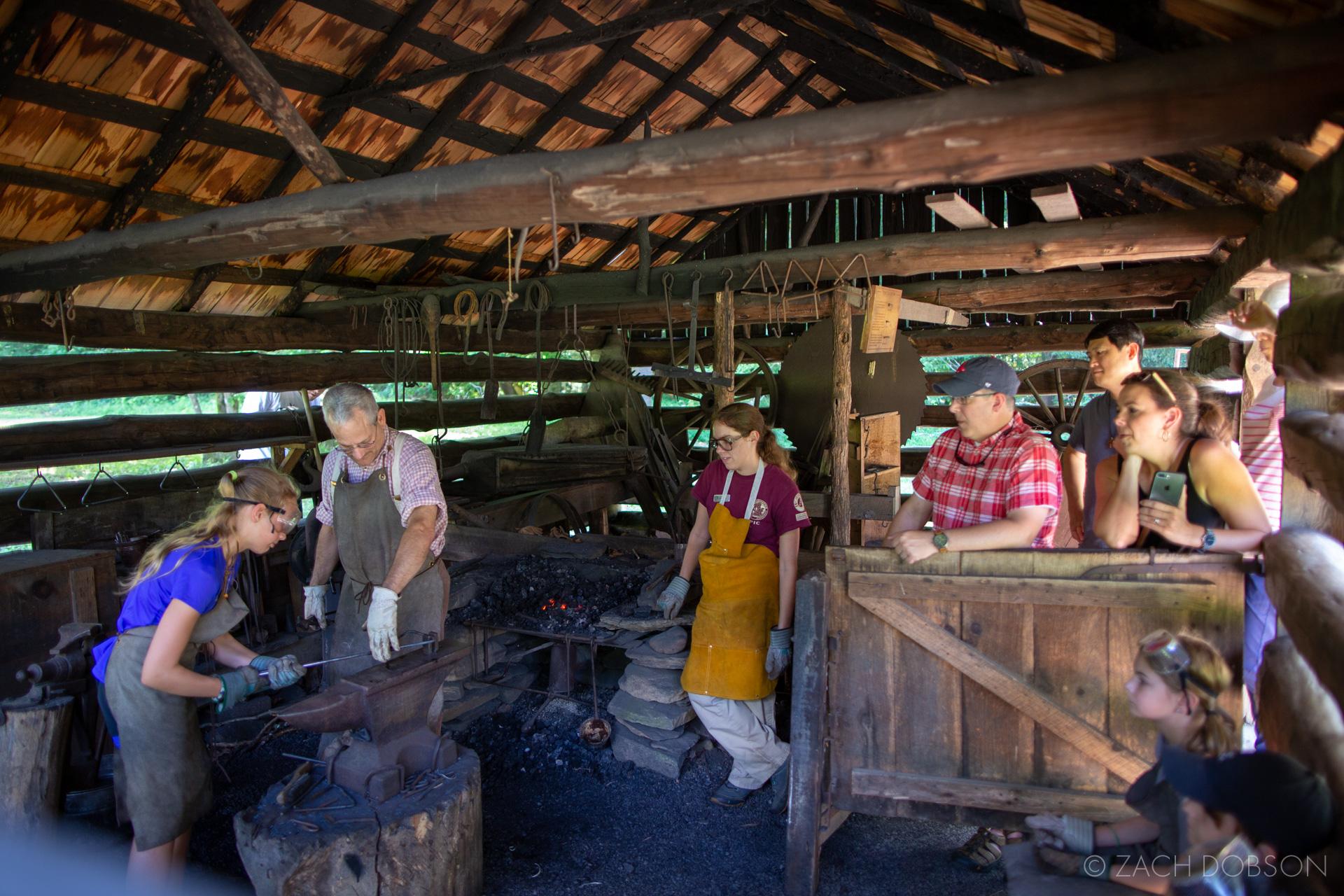 Great Smoky Mountains Blacksmith