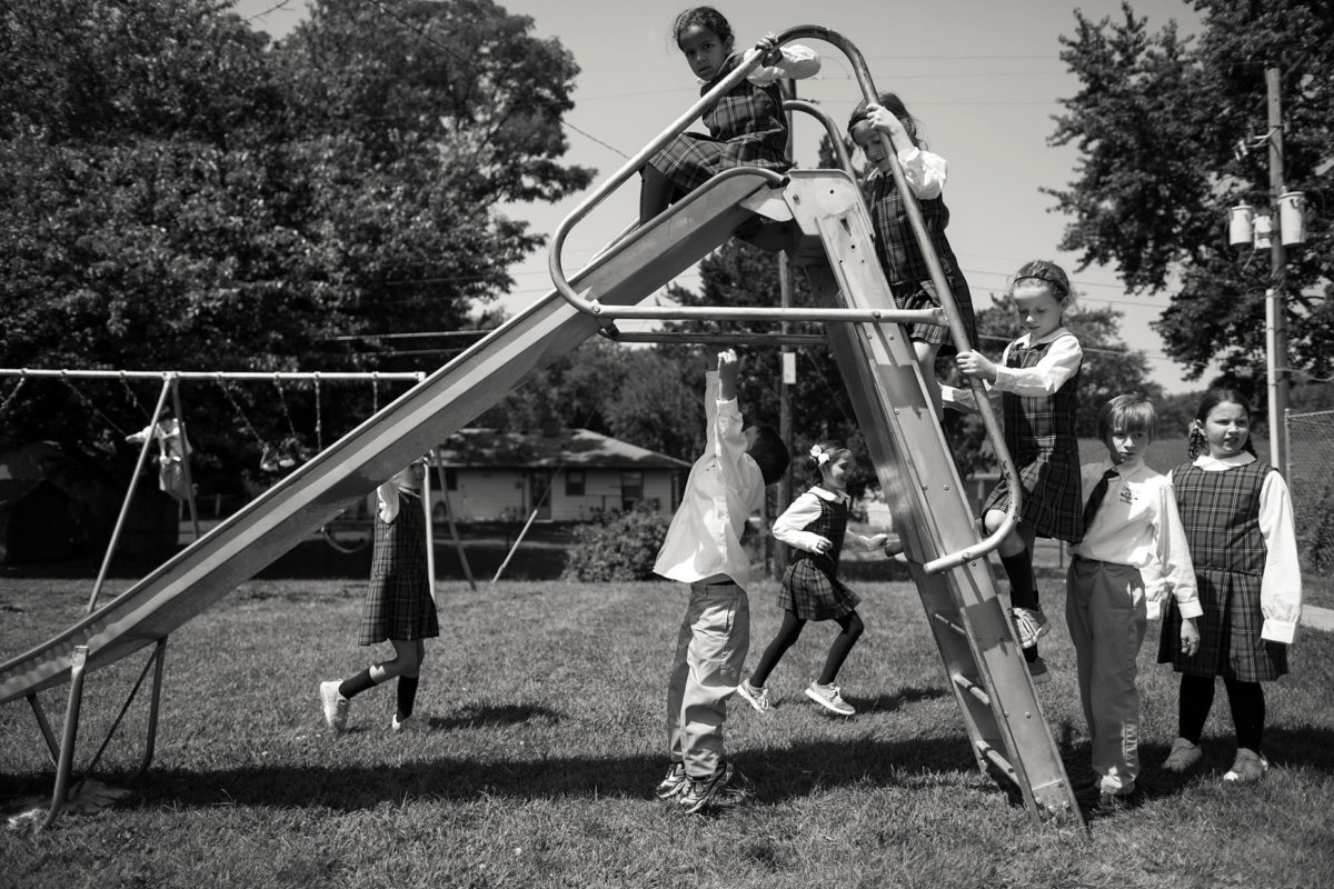 first day of school recess playground